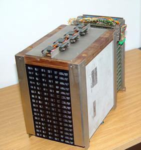 Mikroprogrammspeicherblock aus der Siemens Rechenanlage 4004